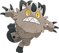 Monster Galarian-Meowth