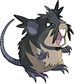 Monster Shiny-Alolan-Raticate