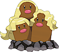 Monster Shiny-Alolan-Dugtrio