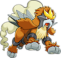 Monster Shiny-Entei