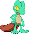 Monster Shiny-Treecko