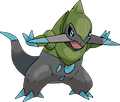 Monster Shiny-Fraxure