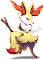 Monster Shiny-Braixen
