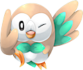 Monster Shiny-Rowlet