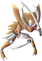 Monster Kabutops-Swordmaster