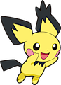 Monster Pichu-Spikyeared