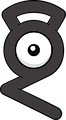 Monster Unown-G