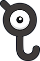 Monster Unown-J
