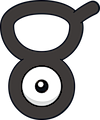 Monster Unown-V