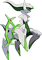 Monster Arceus-Grass