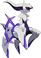 Monster Arceus-Ghost