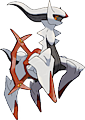 Monster Arceus-Fighting