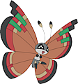 Monster Vivillon-Archipelago