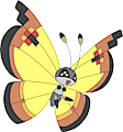 Monster Vivillon-Continental