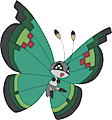 Monster Vivillon-Garden