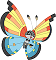 Monster Vivillon-Ocean