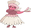 Monster Oricorio-Pau