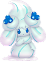 Monster Alcremie-Blueberry