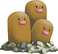 Monster Dugtrio