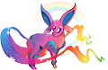 Monster Shiny-Espeon-Shining