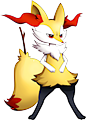 Monster Braixen