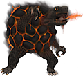 Monster Mega-Golem-Fire