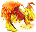 Monster Mega-Flareon-Dragon