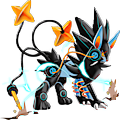 Monster Mega-Luxray-Earth