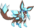 Monster Mega-Glaceon-Gemstone