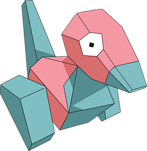 porygon is one of the easiest pokemon to draw