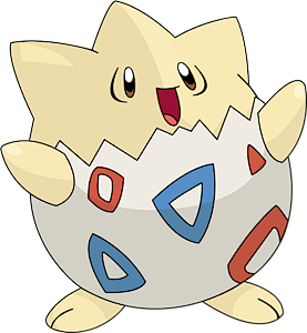togepi is one of the easiest pokemon to draw