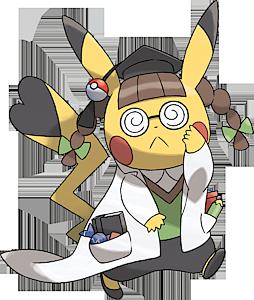 Pokemon 4028 Pikachu Phd Pokedex Evolution Moves Location Stats