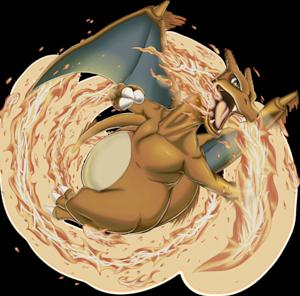 pokemon 6 charizard pokedex evolution moves location stats