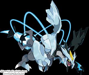 Shiny Kyurem Black Pok 233 Dex Stats Moves Evolution