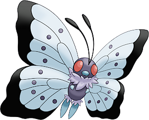 Pokemon 8012 Mega Butterfree Pokedex Evolution Moves Location Stats