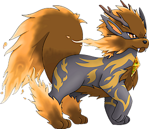 Pokemon 8059 Mega Arcanine Pokedex Evolution Moves Location Stats