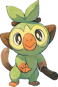 Pokemon 810 Grookey Pokedex Evolution Moves Location Stats Grookey evolves a total of two times before reaching its final evolutionary stage. pokemon pets
