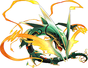 Image result for mega rayquaza
