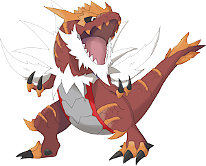 Pokemon 8697 Mega Tyrantrum Pokedex Evolution Moves Location Stats