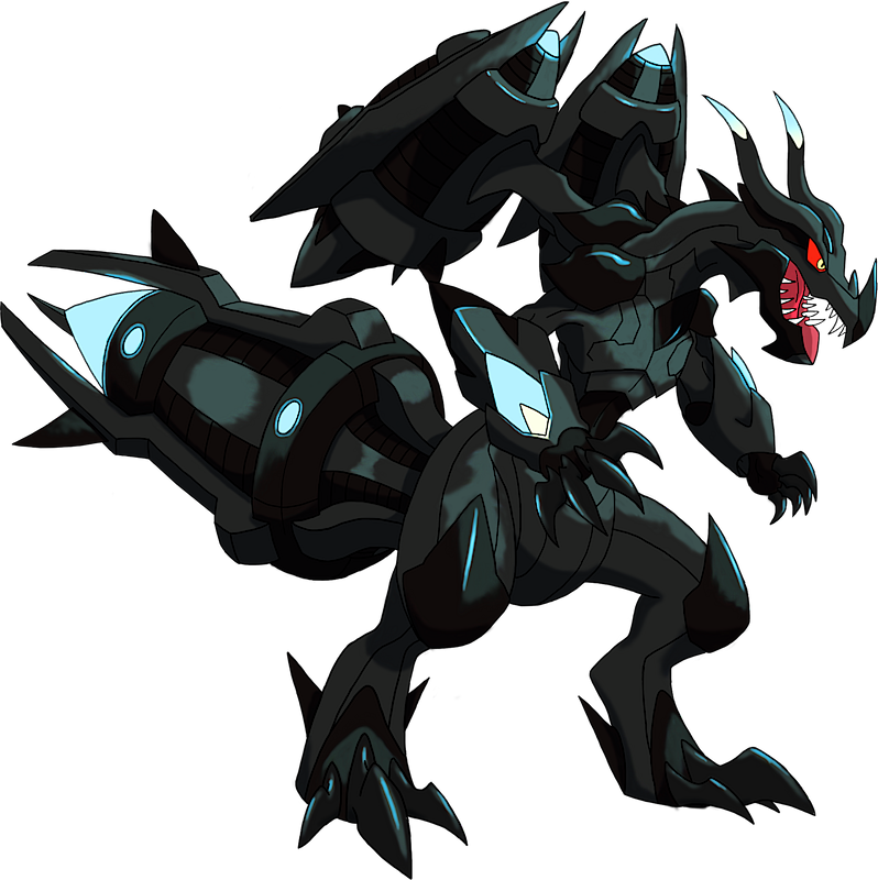 Pokemon Shiny Zekrom p...