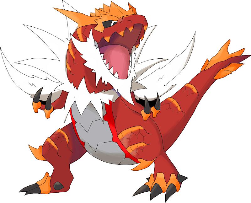 Pokemon 10697 Shiny Mega Tyrantrum Mega S Picture For