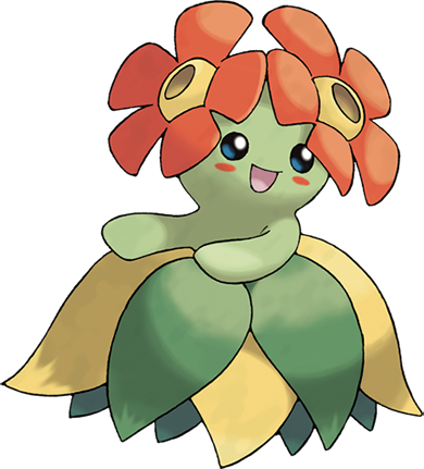 Bellossom Pok 233 Dex Stats Moves Evolution Locations