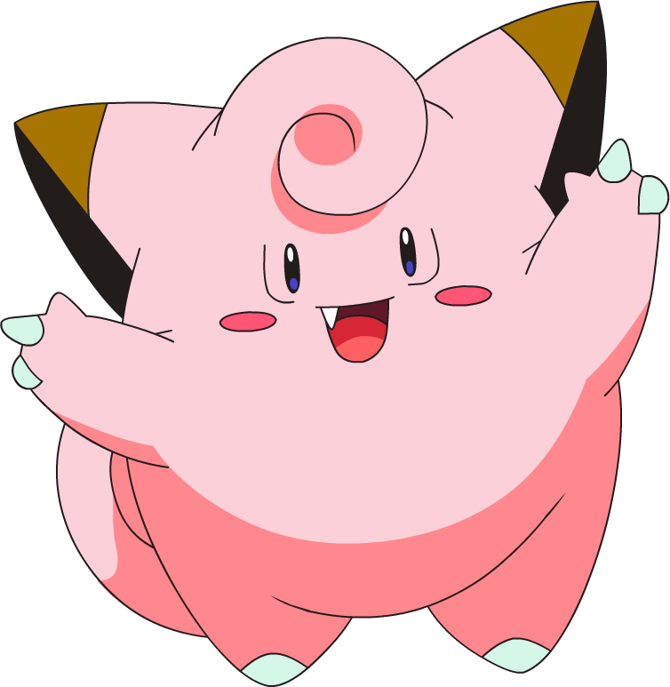 shiny clefairy pok233dex stats moves evolution locations