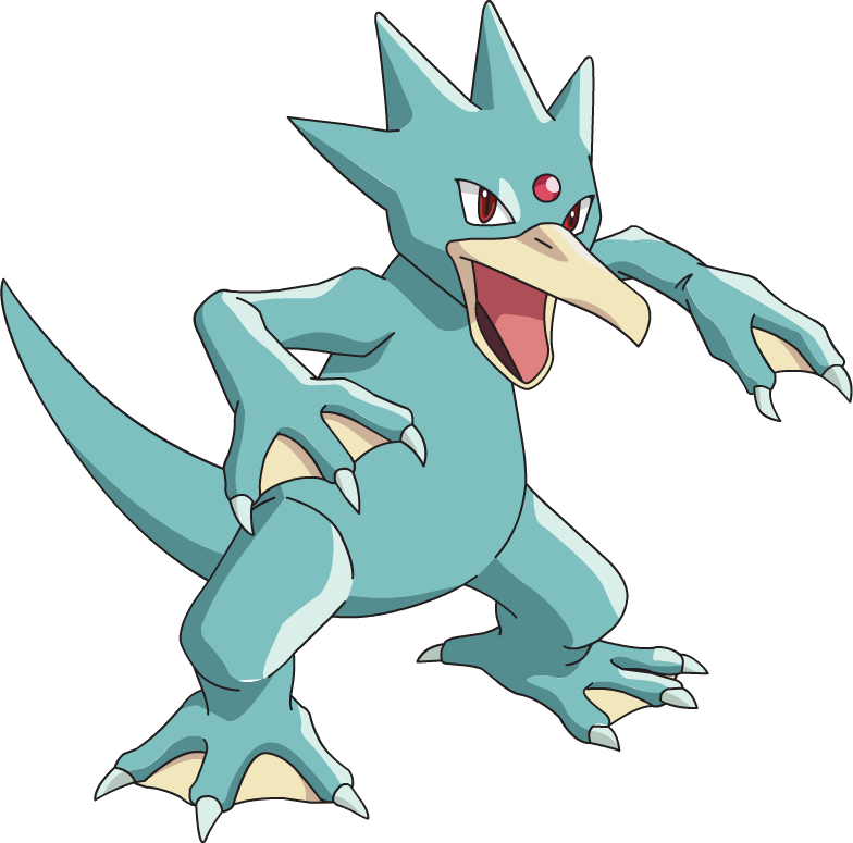 ID: 2055 Pokémon Shiny-Golduck www.pokemonpets.com - Online RPG Pokémon Game