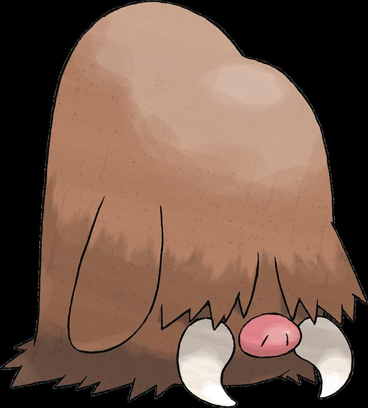 pokémon 221 piloswine rare artwork