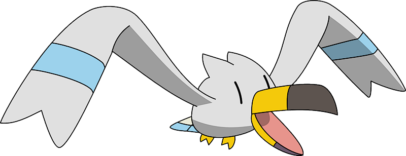 Shiny Wingull Pokédex: stats, moves, evolution, locations ...