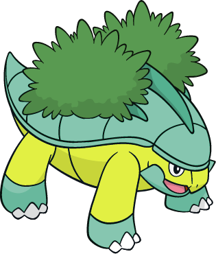 Pokemon 2388 Shiny Grotle Shiny Picture For Pokemon Go Players