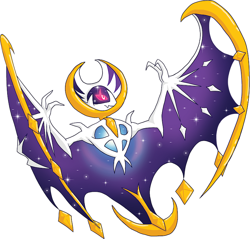 Shiny Lunala Pok 233 Dex Stats Moves Evolution Locations Amp Other Forms Pok 233 Mon Database