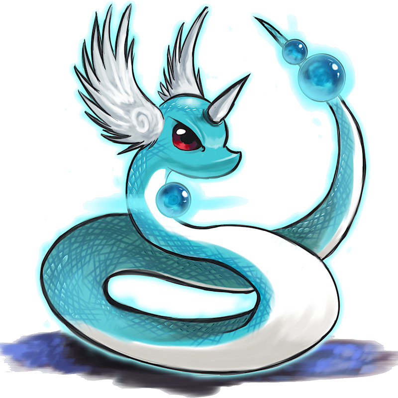 ID: 4148 Pokémon Dragonair-Icy www.pokemonpets.com - Online RPG Pokémon Game