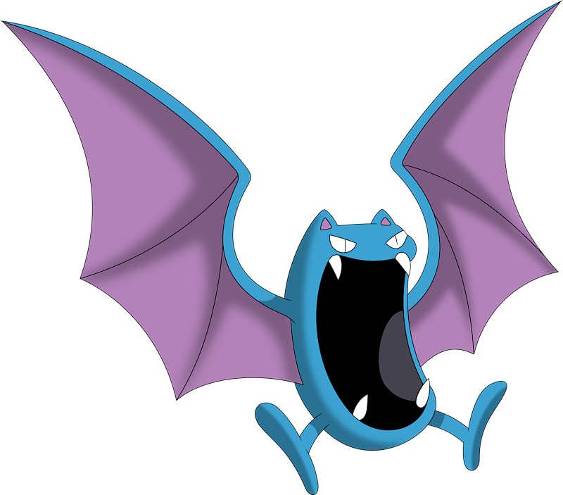 Golbat Pokemon Pokedex 42